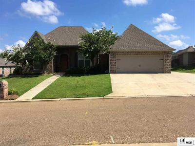 West Monroe Single Family Home For Sale: 210 Austin Oaks Circle