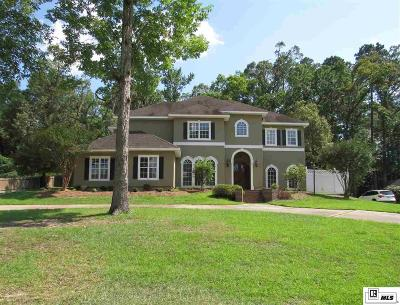 West Monroe Single Family Home Active-Price Change: 110 Bonnabel Place