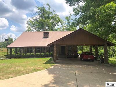 West Monroe Single Family Home For Sale: 226 New Chapel Hill Road