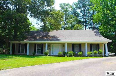 West Monroe Single Family Home For Sale: 105 Arapaho Circle