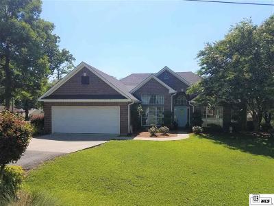 West Monroe Single Family Home Active-Price Change: 169 Nan Creek Road