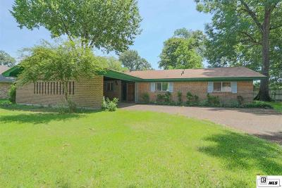 Monroe Single Family Home For Sale: 4104 Woodway Drive