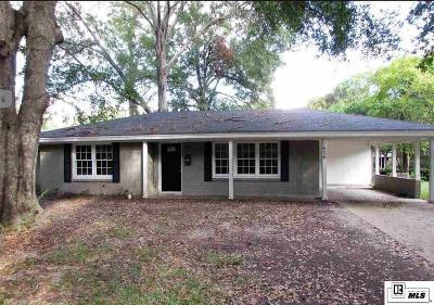 Monroe Single Family Home For Sale: 1606 Frances Place