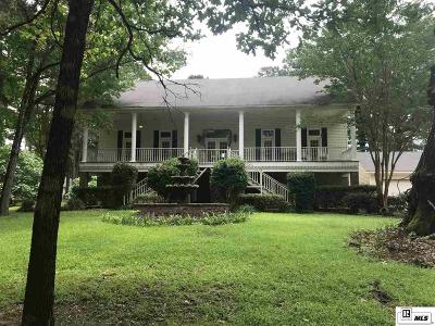 West Monroe Single Family Home For Sale: 180 Whispering Creek Road