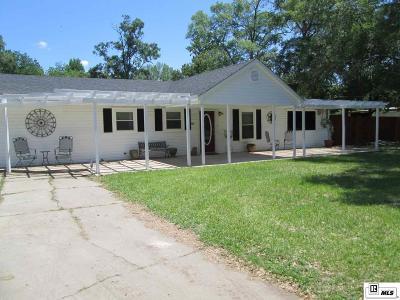 West Monroe Single Family Home Back On Market: 707 Washington Street
