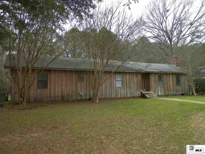Ruston Single Family Home For Sale: 3311 Little River Road