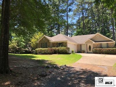 West Monroe Single Family Home For Sale: 215 T John Road