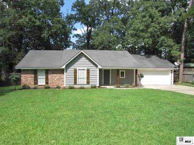 West Monroe Single Family Home For Sale: 106 Kenny Lane
