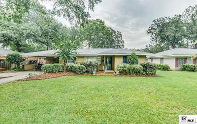 Monroe Single Family Home For Sale: 1710 Milton Street