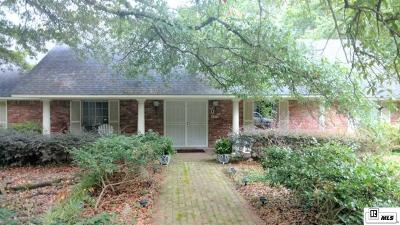 West Monroe Single Family Home For Sale: 106 Sunset Drive