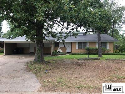 West Monroe Single Family Home Active-Pending: 202 Parkwood Drive