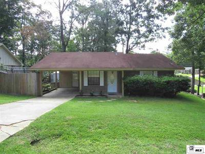 West Monroe Single Family Home For Sale: 214 Lakewood Drive