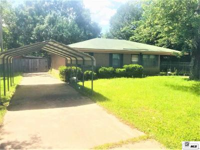 West Monroe Single Family Home For Sale: 300 West Heights Drive