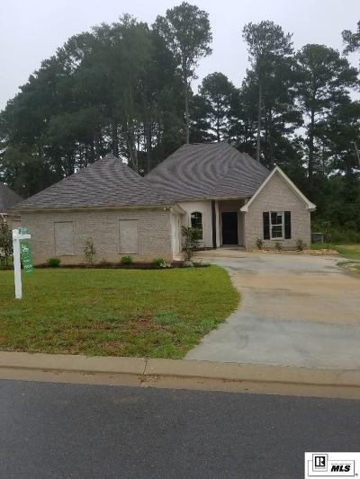 West Monroe Single Family Home For Sale: 119 Westlakes Drive