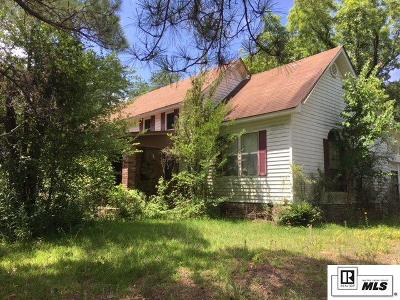 Dubach Single Family Home For Sale: 4853 Highway 151