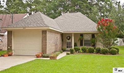 West Monroe Single Family Home New Listing: 2414 Nye Street