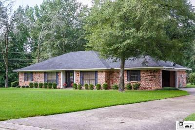 Ruston Single Family Home For Sale: 2601 Foxxwood Drive