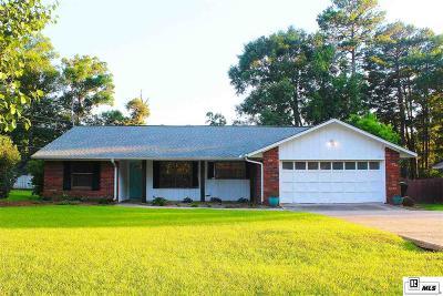 West Monroe Single Family Home New Listing: 110 Sandhurst Circle