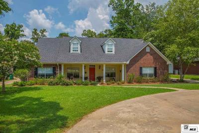 West Monroe Single Family Home New Listing: 120 Eagle Rock Drive