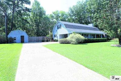 West Monroe Single Family Home New Listing: 110 Canyon Road
