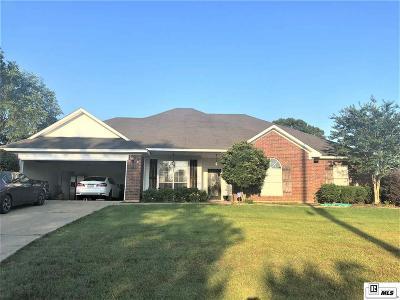 West Monroe Single Family Home New Listing: 335 Kendall Ridge Drive