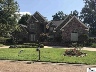 West Monroe Single Family Home For Sale: 121 Eagle Rock Drive