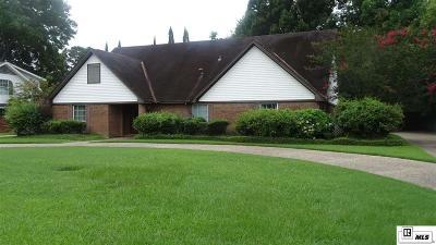 Monroe Single Family Home For Sale: 2716 Bramble Drive