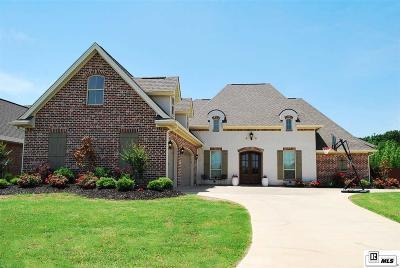 Monroe Single Family Home Active-Pending: 515 E Frenchmans Bend Road