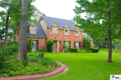 West Monroe Single Family Home For Sale: 1100 McMillan Road