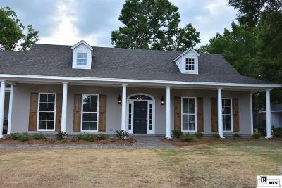 Monroe Single Family Home For Sale: 3505 Pegram Circle