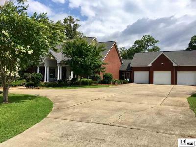 West Monroe Single Family Home For Sale: 104 Saint Anne Drive