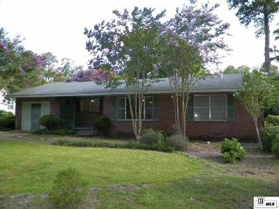 Lincoln Parish Single Family Home For Sale: 213 N Pinecrest Drive