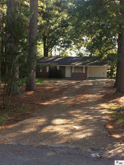 West Monroe Single Family Home Active-Pending: 820 Henderson Road