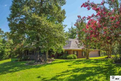West Monroe Single Family Home Active-Pending: 323 Cheniere Hills Drive