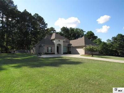 West Monroe Single Family Home For Sale: 110 Castle Creek Drive