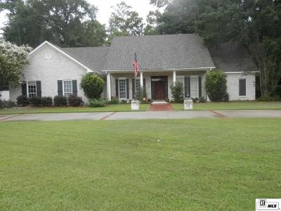 Monroe Single Family Home For Sale: 1505 Frenchmans Bend Road