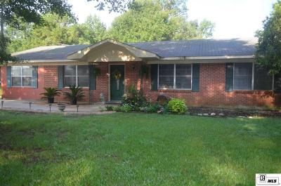 Ruston Single Family Home For Sale: 418, Tarbutton Road