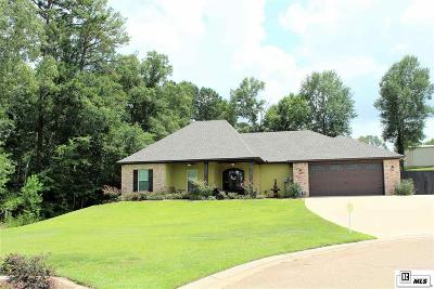 West Monroe Single Family Home For Sale: 610 Teal Circle
