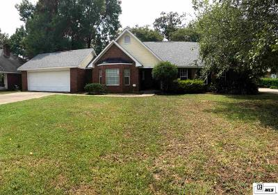 Monroe Single Family Home For Sale: 3517 Tilford Circle