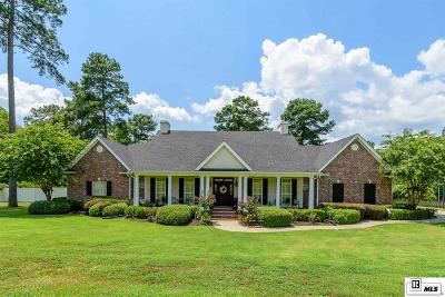 West Monroe Single Family Home For Sale: 200 Canyon Road