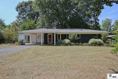 Ruston Single Family Home Active-Pending: 1731 W Kentucky Avenue