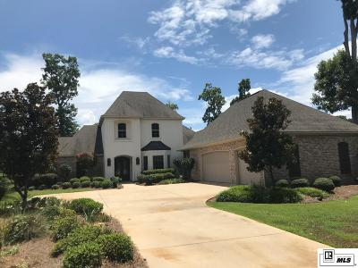 West Monroe Single Family Home Active-Pending: 479 Fiddlers Creek Drive