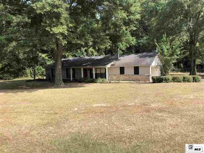 Ruston Single Family Home New Listing: 2629 Highway 822