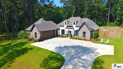 West Monroe Single Family Home For Sale: 605 Norris Lane