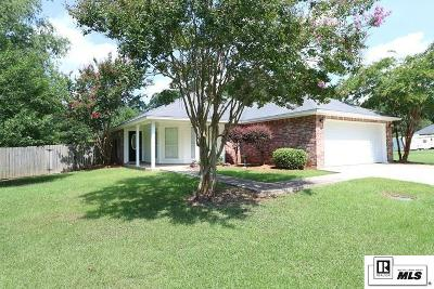 West Monroe Single Family Home New Listing: 108 Byrd Road