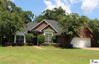 West Monroe Single Family Home New Listing: 128 Steeplechase Circle