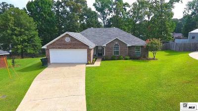 West Monroe Single Family Home New Listing: 132 Olde Oaks Drive