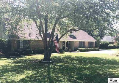 West Monroe Single Family Home New Listing: 601 Wall Williams Road