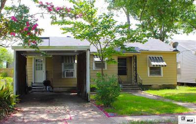 West Monroe Single Family Home New Listing: 1321 N 6th Street