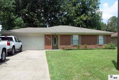 Monroe Single Family Home New Listing: 410 Birchwood Drive